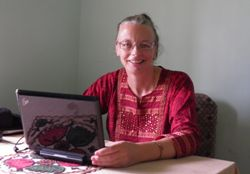 Sheila Ash, International Volunteer